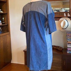 Life In Progress Denim Dress